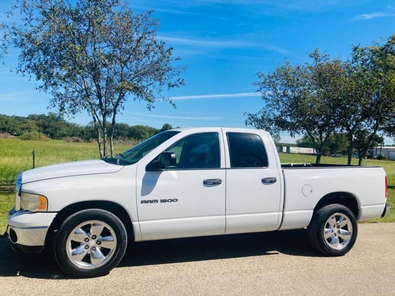 2003 Dodge Ram Pickup 1500 for sale at 707 Truck Sales in San Antonio TX