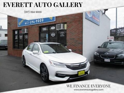 2017 Honda Accord for sale at Everett Auto Gallery in Everett MA