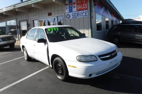 2003 Chevrolet Malibu for sale at 777 Auto Sales and Service in Tacoma WA
