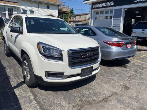 2014 GMC Acadia for sale at CLASSIC MOTOR CARS in West Allis WI