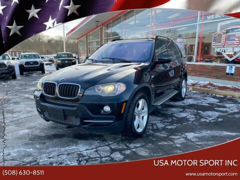 2009 BMW X5 for sale at USA Motor Sport inc in Marlborough MA