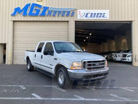2000 Ford F-250 Super Duty for sale at MGI Motors in Sacramento CA