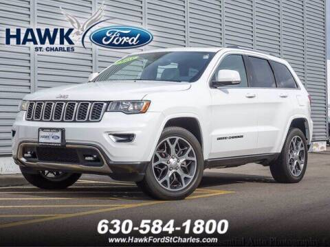 2018 Jeep Grand Cherokee for sale at Hawk Ford of St. Charles in Saint Charles IL