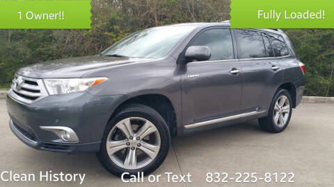 2011 Toyota Highlander for sale at Houston Auto Preowned in Houston TX