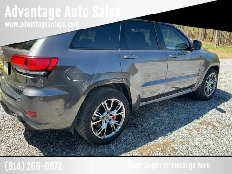 2017 Jeep Grand Cherokee for sale at Advantage Auto Sales in Johnstown PA