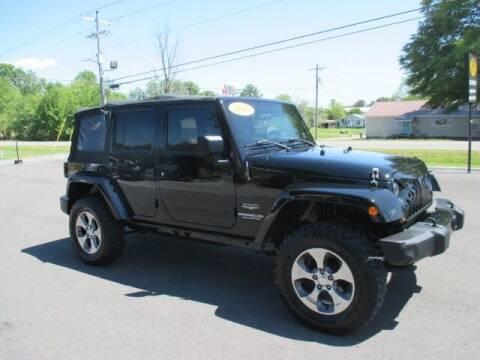 2010 Jeep Wrangler Unlimited for sale at G. B. ENTERPRISES LLC in Crossville AL
