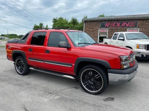 2004 Chevrolet Avalanche for sale at Redline Motorplex,LLC in Gallatin TN