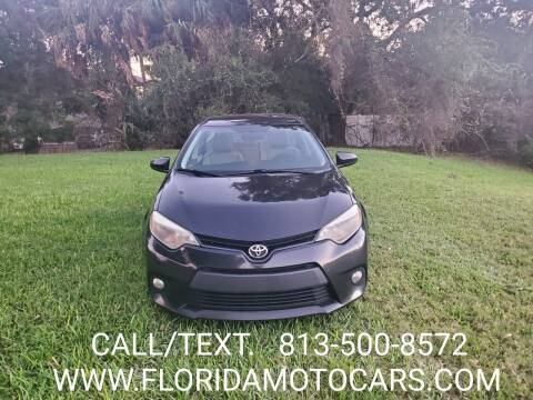 2014 Toyota Corolla for sale at Florida Motocars in Tampa FL
