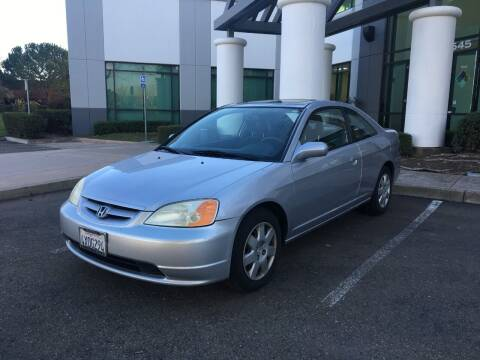 2002 Honda Civic for sale at Hi5 Auto in Fremont CA