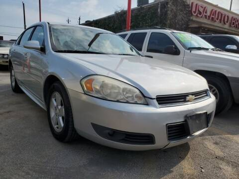 2011 Chevrolet Impala for sale at USA Auto Brokers in Houston TX