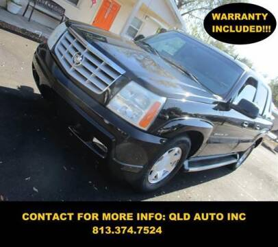 2002 Cadillac Escalade EXT for sale at QLD AUTO INC in Tampa FL