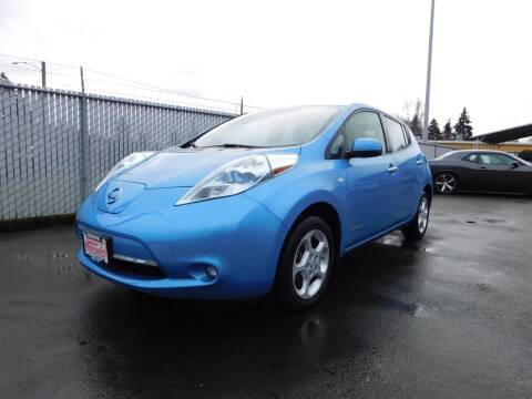 2012 Nissan LEAF for sale at Salem Motorsports in Salem OR