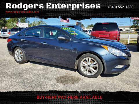 2012 Hyundai Sonata for sale at Rodgers Enterprises in North Charleston SC