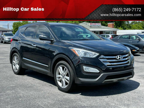 2014 Hyundai Santa Fe Sport for sale at Hilltop Car Sales in Knox TN