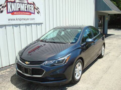 2016 Chevrolet Cruze for sale at Team Knipmeyer in Beardstown IL