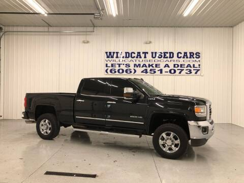 2017 GMC Sierra 2500HD for sale at Wildcat Used Cars in Somerset KY