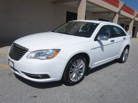 2012 Chrysler 200 for sale at PRIME AUTOS OF HAGERSTOWN in Hagerstown MD
