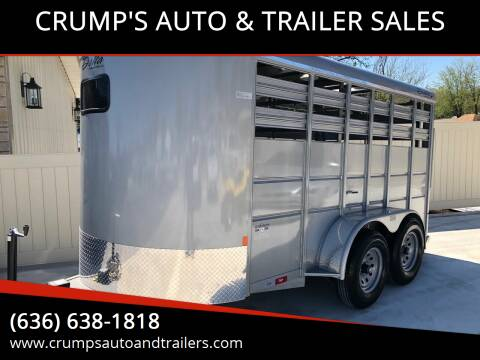 2020 Delta Cattle trailer for sale at CRUMP'S AUTO & TRAILER SALES in Crystal City MO