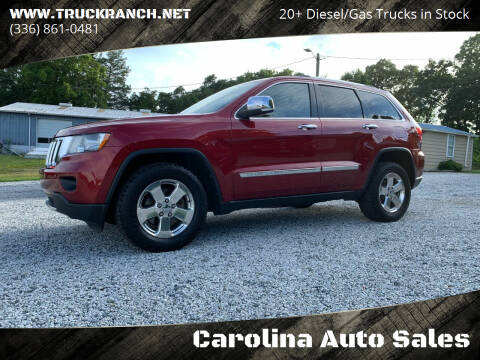 2013 Jeep Grand Cherokee for sale at Carolina Auto Sales in Trinity NC