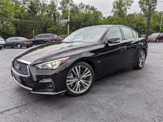 2018 Infiniti Q50 for sale at GAHANNA AUTO SALES in Gahanna OH