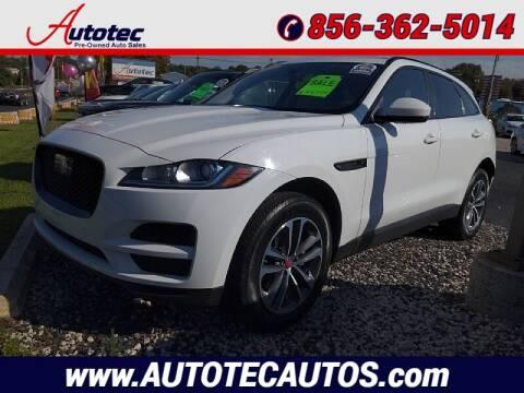 2019 Jaguar F-PACE for sale at Autotec Auto Sales in Vineland NJ