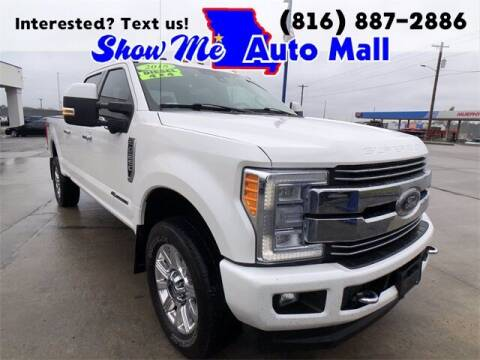 2018 Ford F-250 Super Duty for sale at Show Me Auto Mall in Harrisonville MO