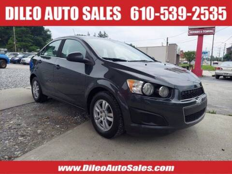 2015 Chevrolet Sonic for sale at Dileo Auto Sales in Norristown PA