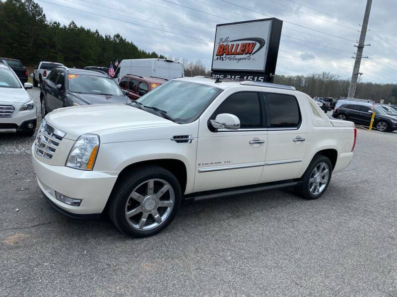 2008 Cadillac Escalade EXT for sale at Billy Ballew Motorsports in Dawsonville GA