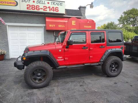 2011 Jeep Wrangler Unlimited for sale at Economy Motors in Muncie IN