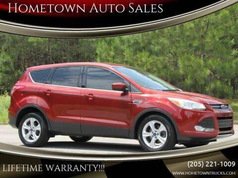 2014 Ford Escape for sale at Hometown Auto Sales - SUVS in Jasper AL