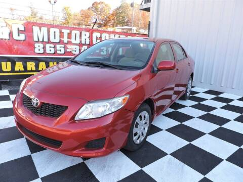 2010 Toyota Corolla for sale at C & C Motor Co. in Knoxville TN