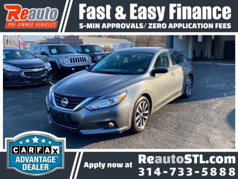 2017 Nissan Altima for sale at Reauto in Saint Louis MO