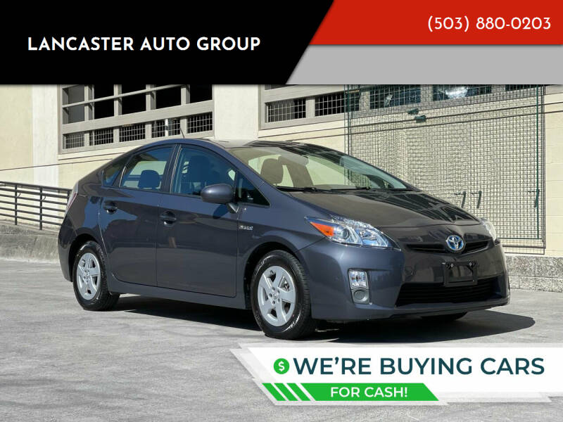 2010 Toyota Prius for sale at LANCASTER AUTO GROUP in Portland OR