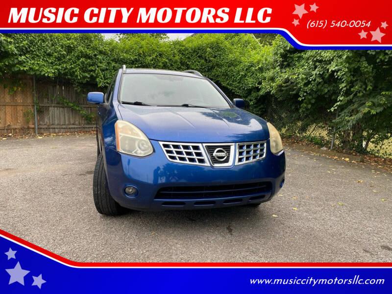2009 Nissan Rogue for sale at MUSIC CITY MOTORS LLC in Nashville TN