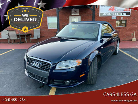 2009 Audi A4 for sale at Cars4Less GA in Alpharetta GA