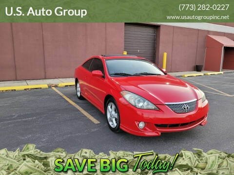 2004 Toyota Camry Solara for sale at U.S. Auto Group in Chicago IL