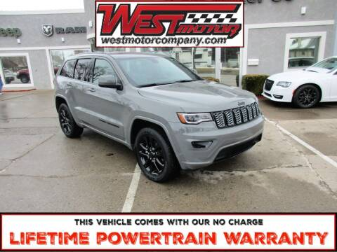 2020 Jeep Grand Cherokee for sale at West Motor Company in Hyde Park UT