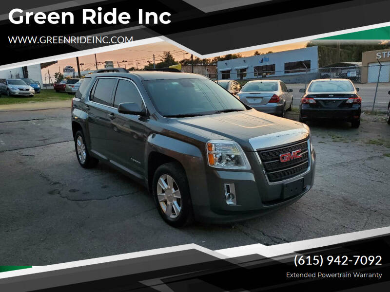 2013 GMC Terrain for sale at Green Ride Inc in Nashville TN