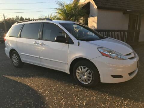 2007 Toyota Sienna for sale at Three Bridges Auto Sales in Fair Oaks CA