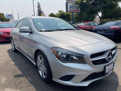 2015 Mercedes-Benz CLA for sale at MISSION AUTOS in Hayward CA
