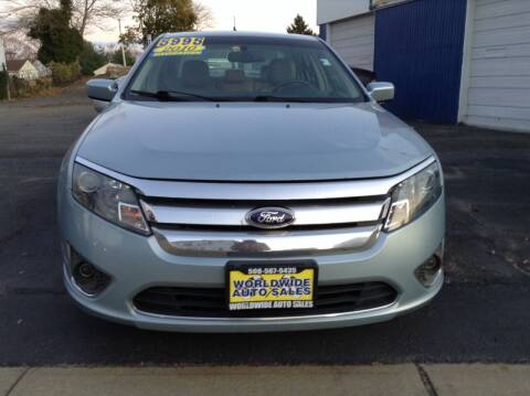 2010 Ford Fusion Hybrid for sale at Worldwide Auto Sales in Fall River MA