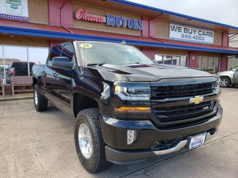 2018 Chevrolet Silverado 1500 for sale at Ohana Motors - Lifted Vehicles in Lihue HI