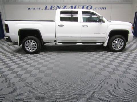 2016 GMC Sierra 2500HD for sale at LENZ TRUCK CENTER in Fond Du Lac WI
