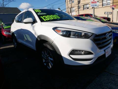 2016 Hyundai Tucson for sale at M & R Auto Sales INC. in North Plainfield NJ