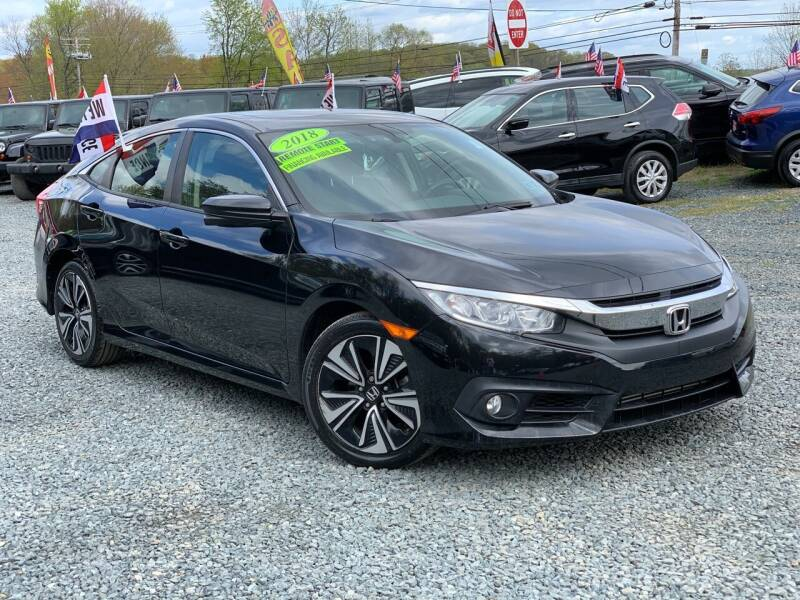 2018 Honda Civic for sale at A&M Auto Sale in Edgewood MD