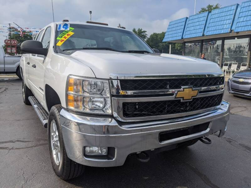 2014 Chevrolet Silverado 2500HD for sale at GREAT DEALS ON WHEELS in Michigan City IN