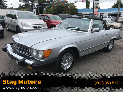 1982 Mercedes-Benz 380-Class for sale at Stag Motors in Portland OR