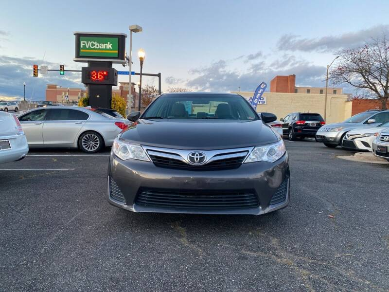 2012 Toyota Camry for sale at DC Motorcars in Springfield VA