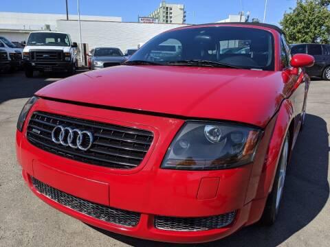 2002 Audi TT for sale at Convoy Motors LLC in National City CA