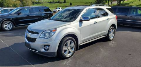 2015 Chevrolet Equinox for sale at Gallia Auto Sales in Bidwell OH
